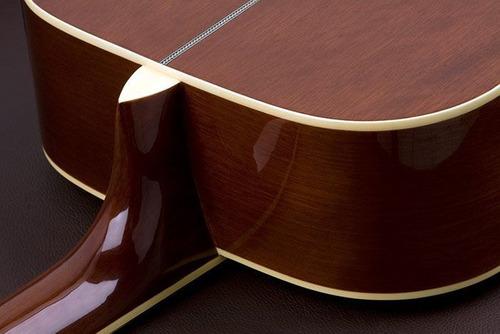 violão eagle ch-887 sb sunburst elétrico afinador - refinado
