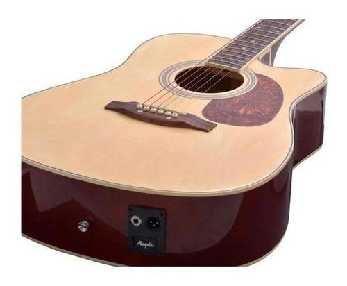 violão electroacústico tagima memphis md 18 tilia natural