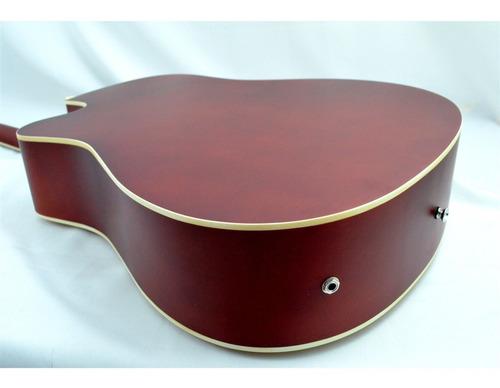 violão eletrico folk aço gdc1 nat fosco giannini kit