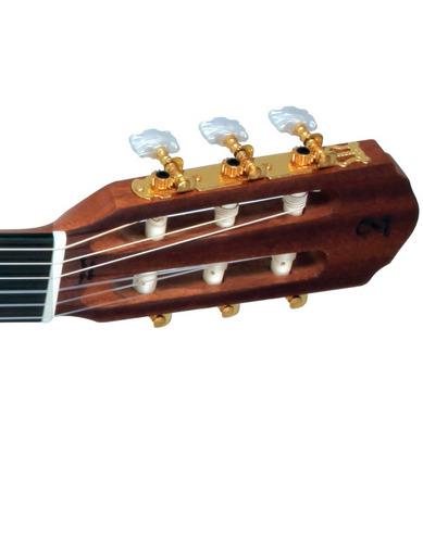 violão eletrico nylon tagima vegas natural mahogany