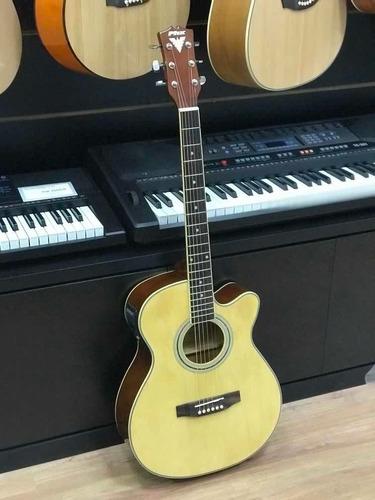 violão eletrico phx px188 c/ afinador aço varias cores