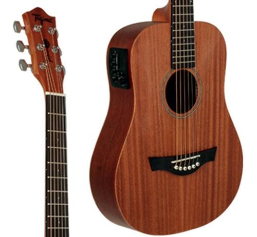 violão eletrico tagima baby mahogany + capa avs luxo
