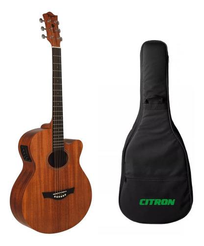 violão elétrico tagima dallas mahogany mogno amadeirado luxo