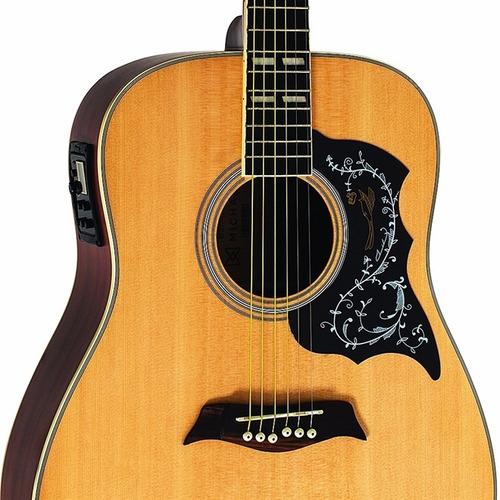 violão eletro acústico michael aço folk vm925  galaxy loja