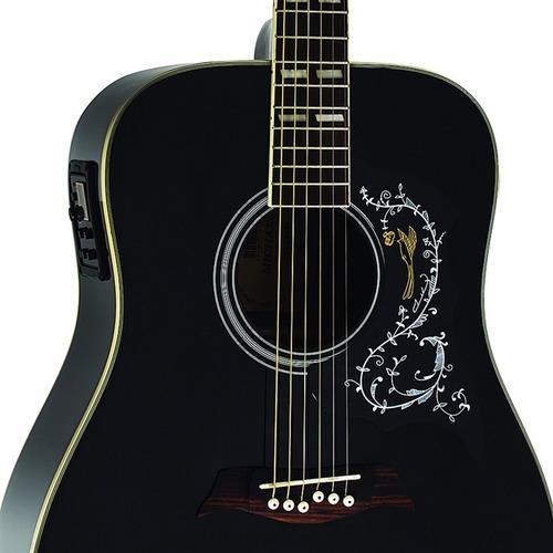 violão eletro acústico michael vm925 folk vm 925 - kadu som