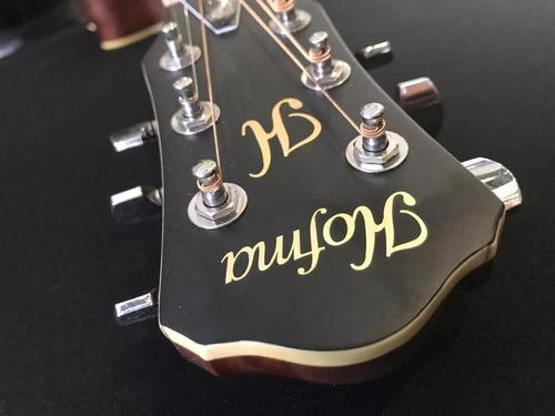 violão eletroacústico aço hmf240 stnt satin natural hofma
