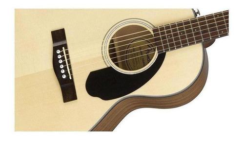 violão eletroacústico fender parlor nat com afinador