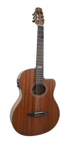 violão eletroacústico flat gnf-3 ceq ws walnut giannini