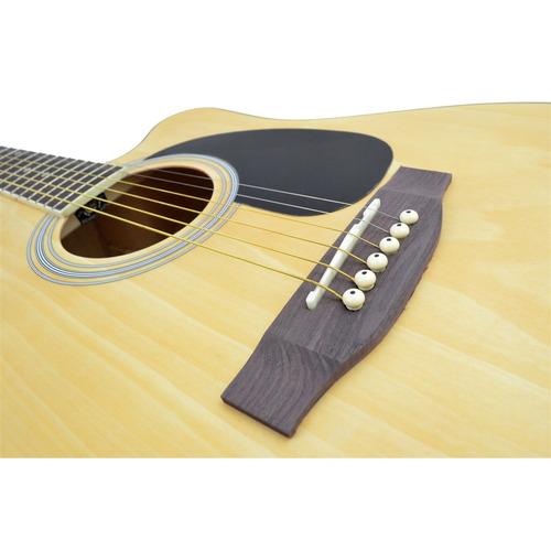 violão eletroacústico folk aço gdc1 ns fosco giannini