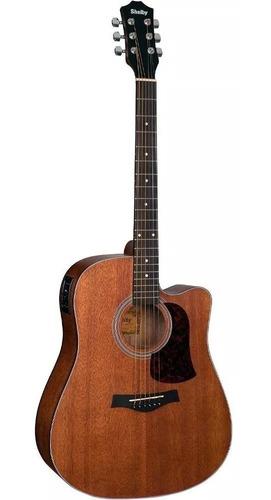 violão eletroacústico folk aço sgd195c shelby by eagle stnt