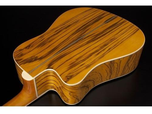 violão eletroacústico folk hmd275 nt natural aço hofma c/ af