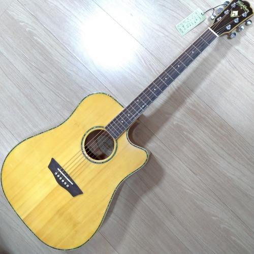 violão eletroacústico washburn wd15sce fishman tampo sólido