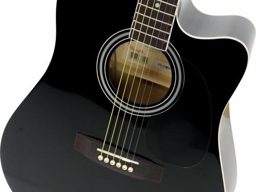 violão eletroacútico folk vck370 varias cores vogga original