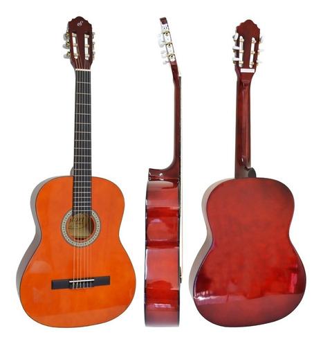 violão estudo acústico nylon natural n14 start giannini