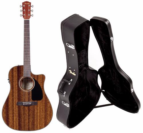 violão fender elétrico aço folk afinador case profissional
