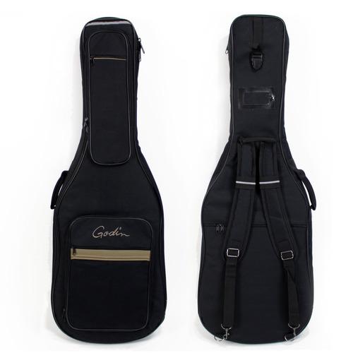 violão flat godin multiac encore sg natural, eletroacústic