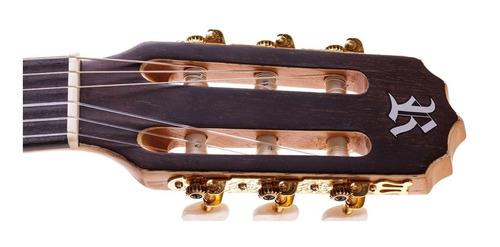 violão flat nylon elétrico tampo maciço rx515 rozini
