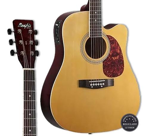 violão folk elétrico tagima memphis md-18 nt + kit completo!