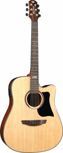 violão folk strinberg af65 aço elétrico com afinador digital