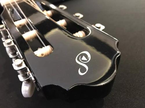 violão giannini acústico estudo em aço s14 preto start
