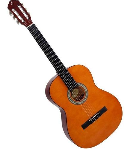 violão giannini acústico nylon start n-14 + capa nf e gtia