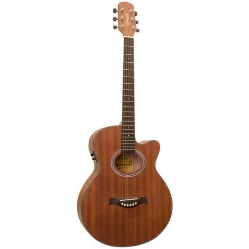 violão giannini gf-3r ceq ws natural fosc afinador- refinado