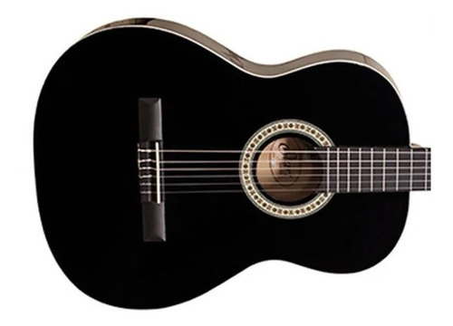 violão giannini start nylon preto n14 bk