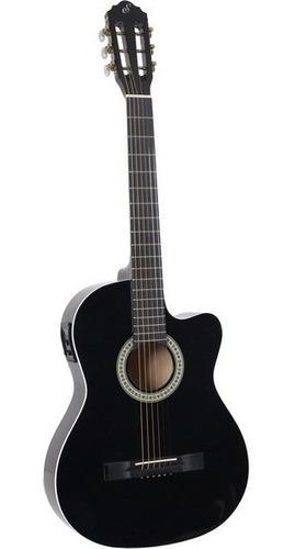 violão giannini start sf-14 ceq tilia black