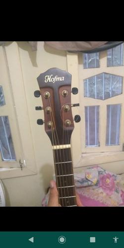 violão hofman hps 350,vai com case