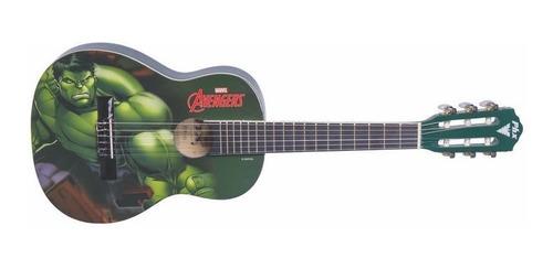 violão infantil acústico marvel - avengers hulk  phx - h1