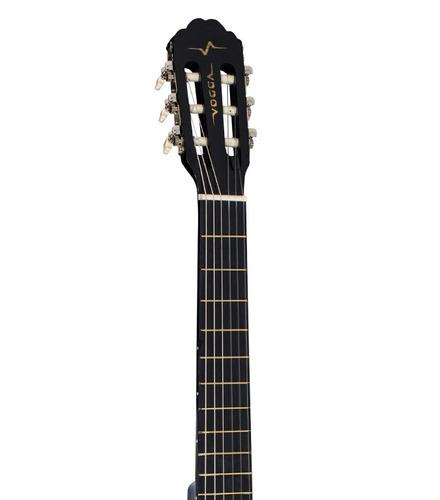 violão iniciante cordas nylon acústico adulto preto
