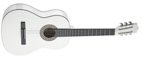 violão junior acústico 3/4 esc. em maple - stagg - c 530wh