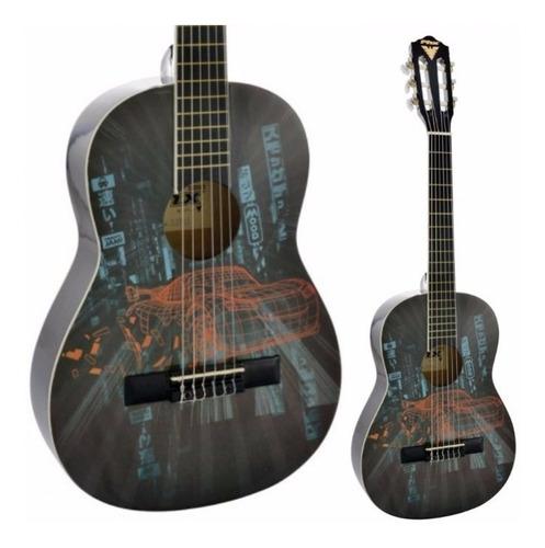 violão juvenil acústico phx disney jvc1 estampa filme carros