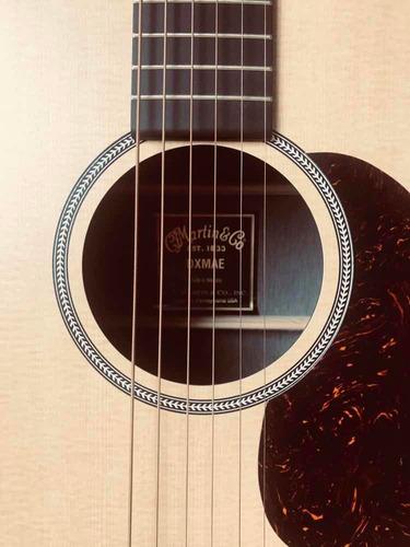 violão martin dxmae, captadores fishman