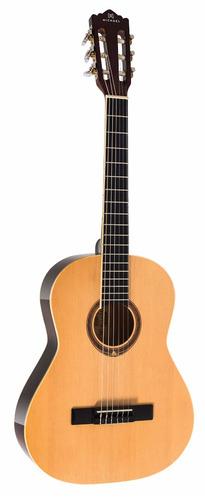 violão michael acústico infantil vm16 natural com bag
