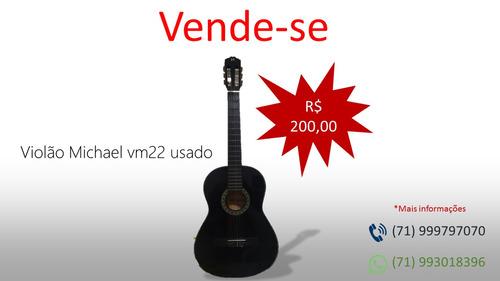 violão michael vm22 acústico