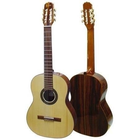 violão náilon acústico rozini studio rx210acn
