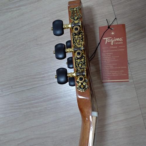 violão nylon elétricotagima ottawa série canadá natural