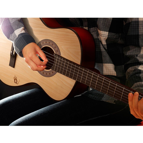 violão queen's d137515 - natural, estudante