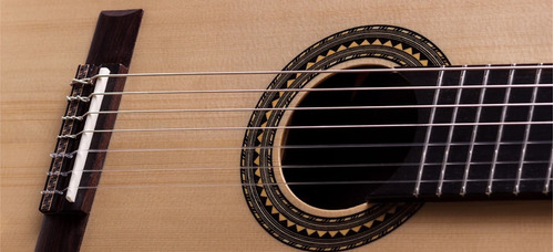 violão rozini concertista 7 cordas rx217 hardcase + fishman
