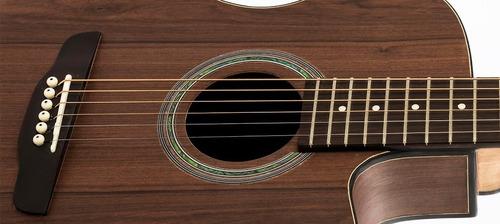 violão rozini presença brasil flat cutaway elétrico rx516