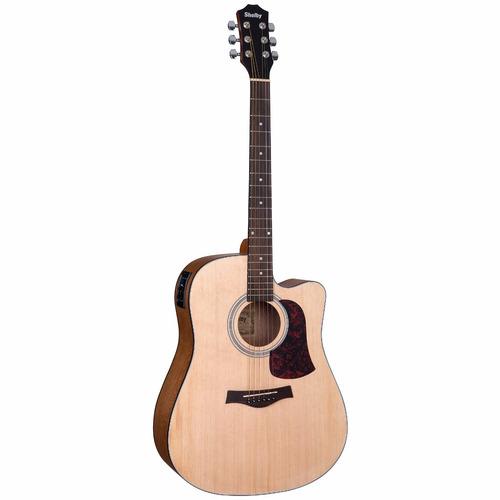 violão shelby folk sgd 193c aço elétrico (stnt)