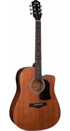 violão shelby folk sgd 195c aço elétrico (stnt)