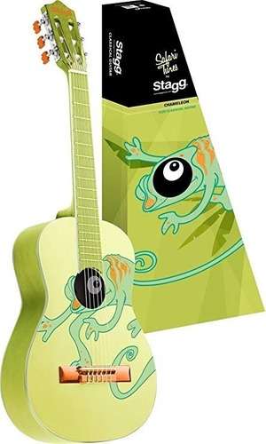 violão stagg clássico infantil 3/4 c530 chamelon acústico