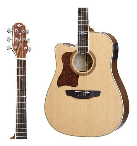 violão strimberg sd25c no lh folk fosco canhoto mahogany