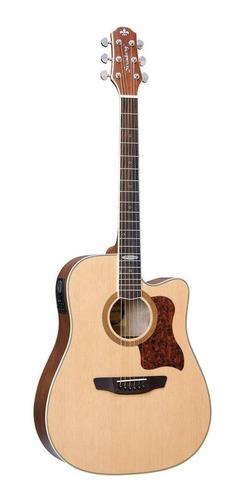 violão strinberg folk elétrico sd20 natural fosco sd 20 c