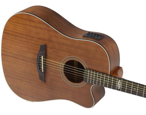 violão strinberg folk elétrico sd200 mahogany + capa