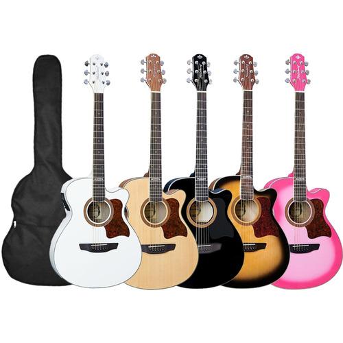 violão strinberg sa20 elétrico afinador +capa kadu som