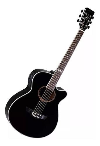 violão tagima dallas aço elétrico + brinde