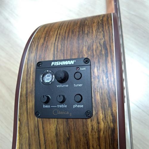violão tagima série walnut one classic cutway mostruário